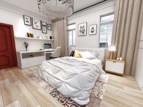 2019简约120平米装修效果图片 2019简约三居室装修设计图片