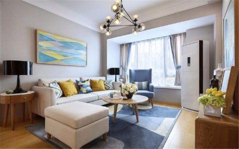 2021北欧70平米装修效果图大全 2021北欧二居室装修设计