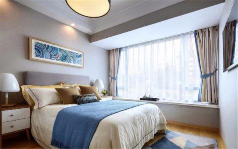 2019现代简约90平米效果图 2019现代简约三居室装修设计图片