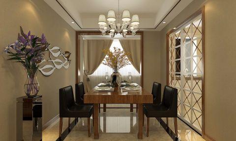 2021现代简约120平米装修效果图片 2021现代简约四居室装修图