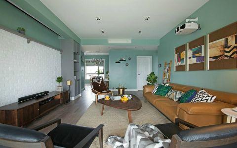 碧瑶花园120平四居室北欧风格装修效果图