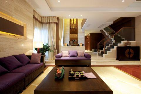 阿卡迪亚220平现代风格四居室装修效果图