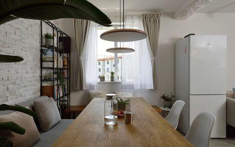 大理阳光两居室小户型北欧简约风格装修效果图