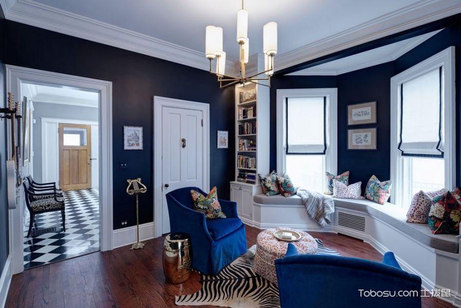 客厅飘窗简欧风格装修设计图片