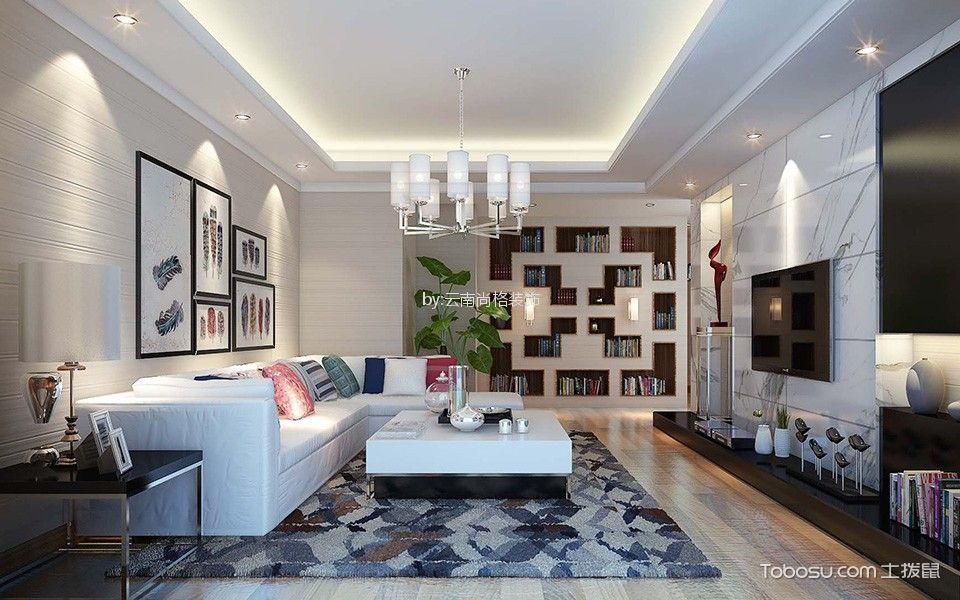 150平米复式欧式风格四室三厅装修效果图