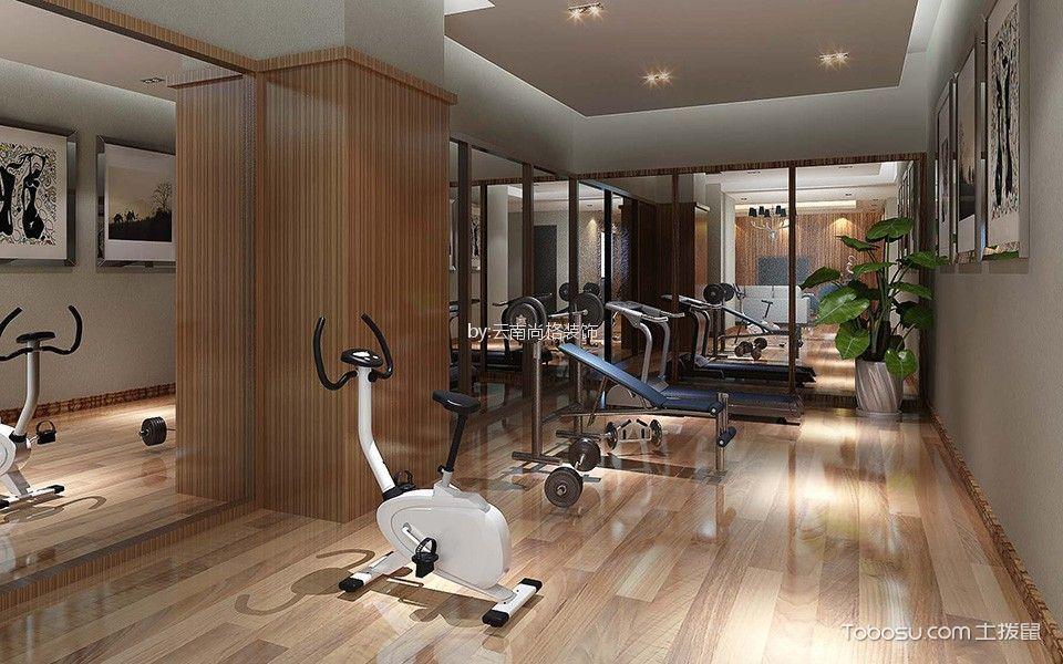 2020歐式健身房裝修圖 2020歐式健身房圖片
