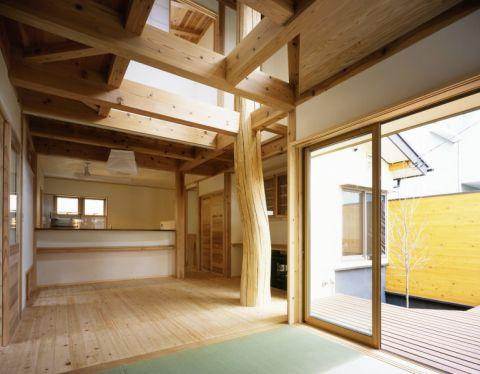 2020日式30平米效果图 2020日式三居室装修设计图片