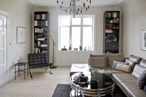 客厅北欧风格效果图大全2017图片_土拨鼠时尚优雅客厅北欧风格装修设计效果图欣赏