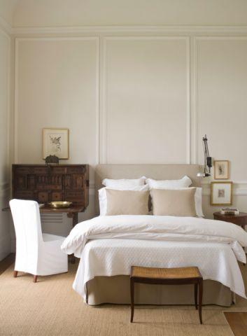 卧室简欧风格效果图大全2017图片_土拨鼠潮流纯净卧室简欧风格装修设计效果图欣赏