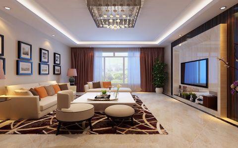 2020现代120平米装修效果图片 2020现代三居室装修设计图片