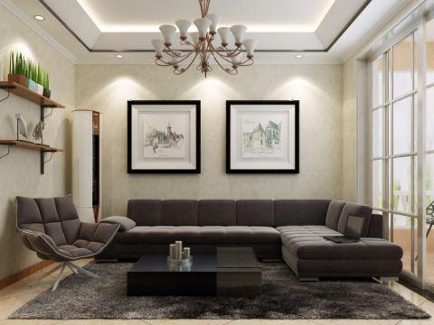 洛阳大瞾国际86平两室混搭风格装修效果图