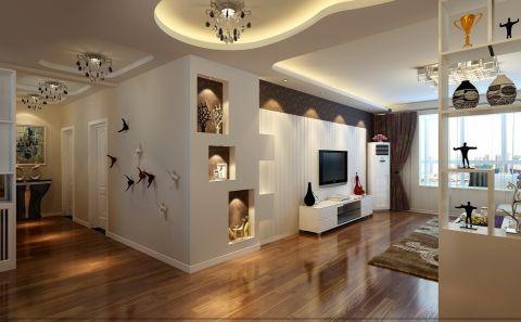 客厅吊顶简约风格装饰设计图片