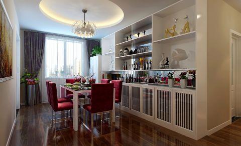 餐厅橱柜简约风格装潢设计图片