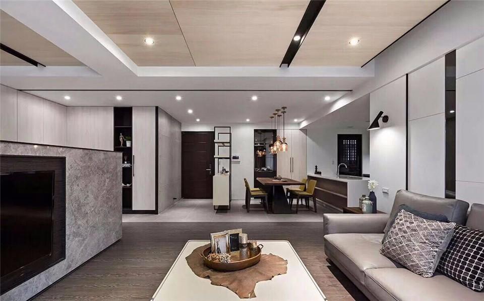 7室3卫1厅190平米现代风格