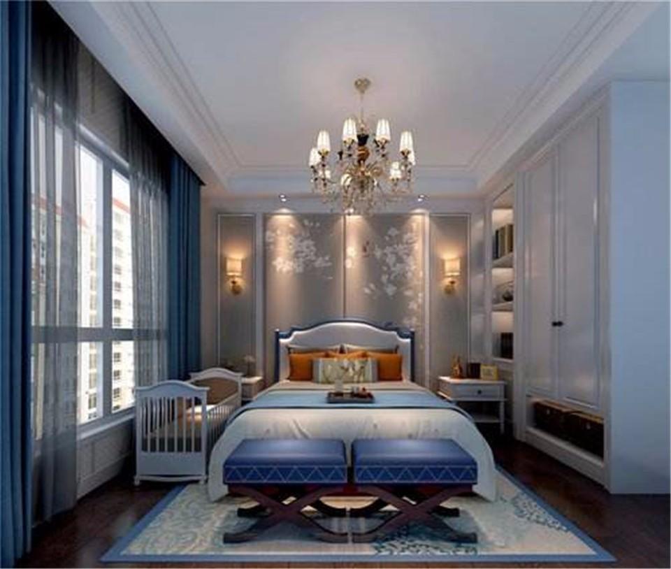 2室1卫1厅89平米美式风格