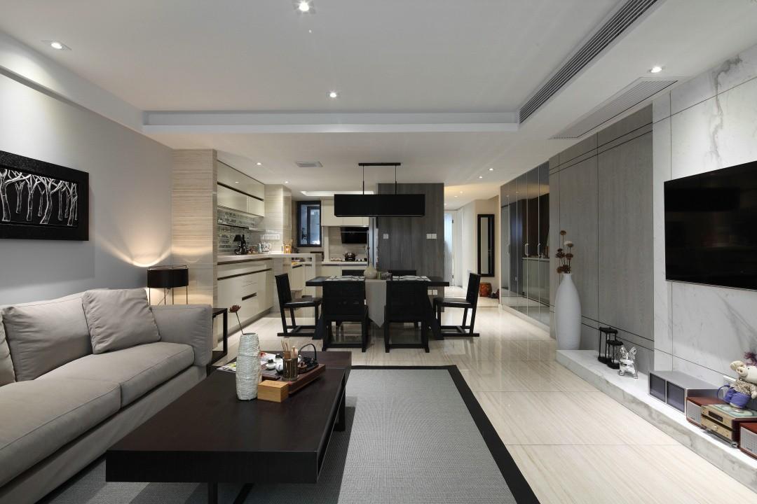 2室1卫2厅87平米混搭风格