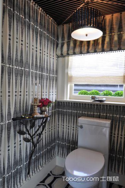 浴室灰色背景墙现代风格装潢图片