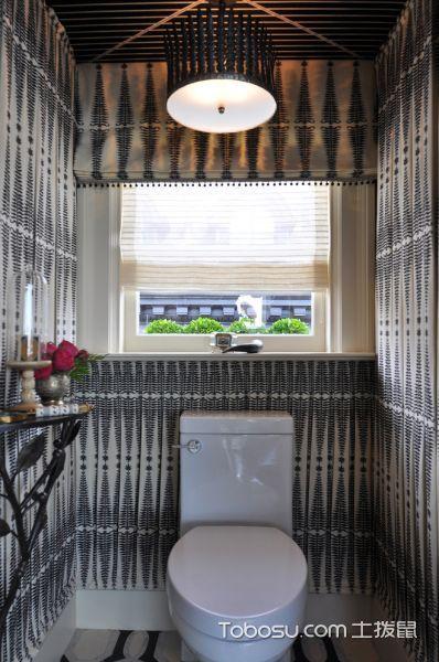 浴室灰色背景墙现代风格装修设计图片