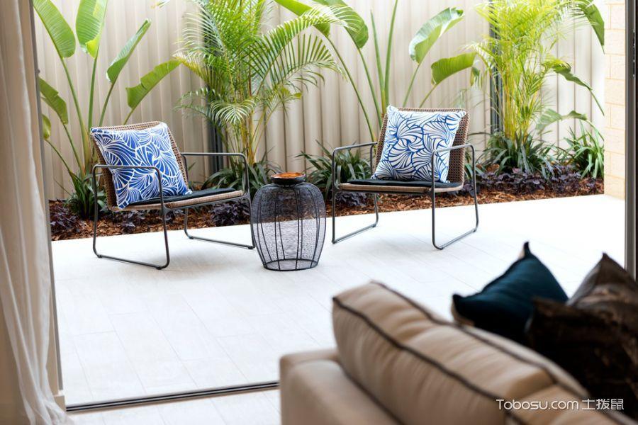 阳台白色细节现代风格装修设计图片