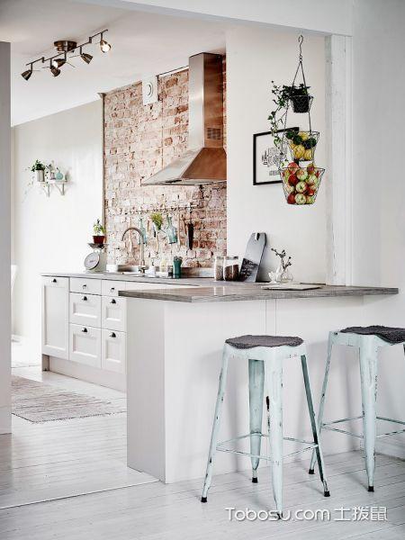 2020简欧厨房装修图 2020简欧厨房岛台装饰设计