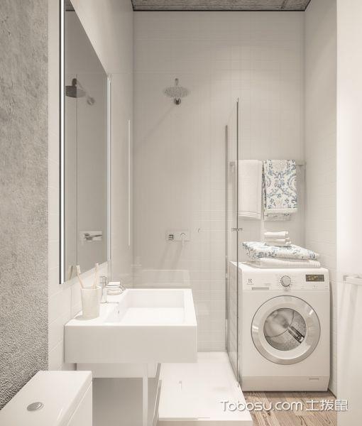 60㎡/北欧/二居室装修设计