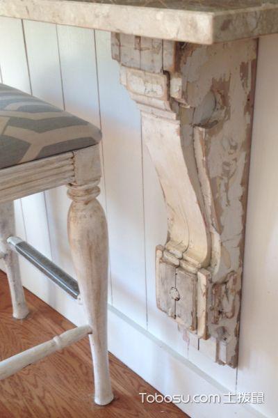 厨房米色细节美式风格装潢设计图片