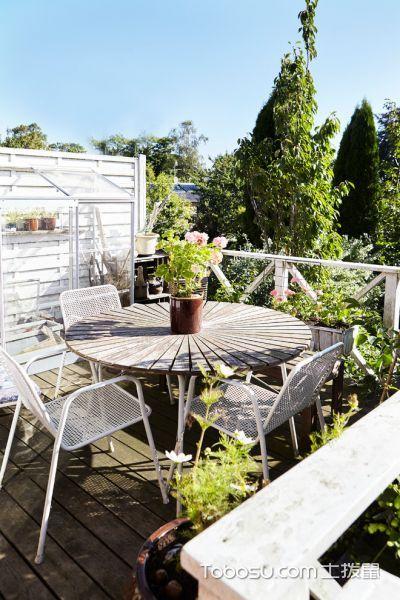阳台灰色细节北欧风格装潢设计图片