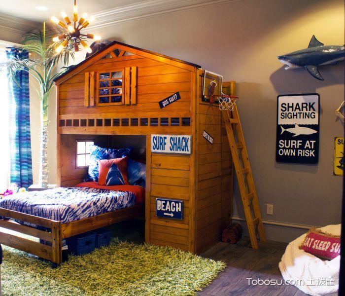 儿童房 背景墙_儿童房混搭风格效果图大全2017图片_土拨鼠极致个性儿童房混搭风格装修设计效果图欣赏