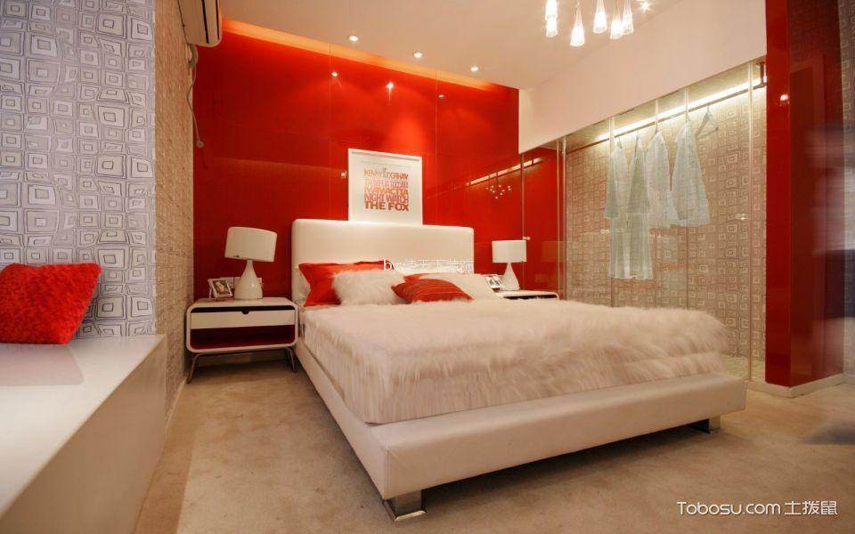 125平米现代简约风格三室一厅装修效果图