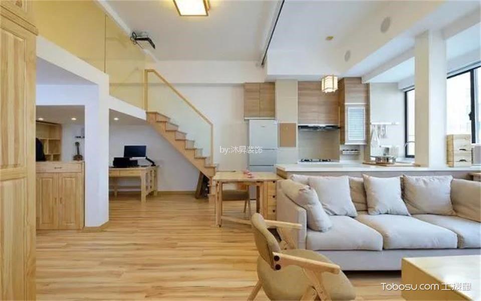 客厅 地砖_70平米日式风格一室一厅装修效果图