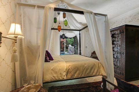 卧室地中海风格效果图大全2017图片_土拨鼠豪华创意卧室地中海风格装修设计效果图欣赏