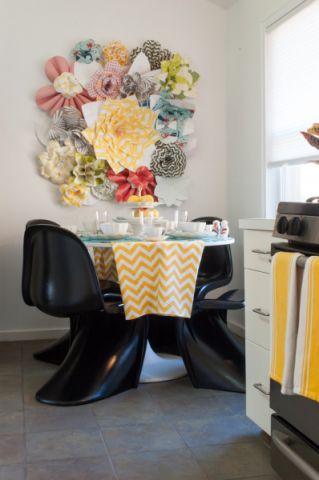 北欧餐厅小餐桌装修设计图片