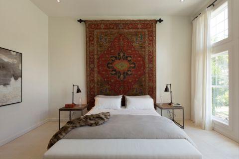 卧室北欧风格效果图大全2017图片_土拨鼠古朴时尚卧室北欧风格装修设计效果图欣赏