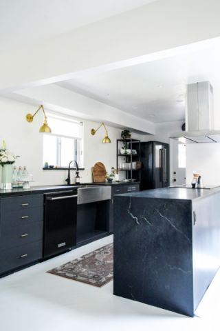 厨房北欧风格效果图大全2017图片_土拨鼠浪漫舒适厨房北欧风格装修设计效果图欣赏