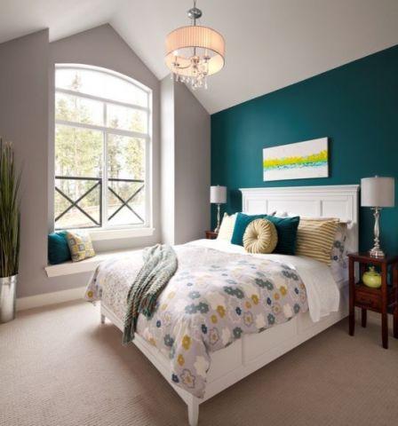 卧室现代风格效果图大全2017图片_土拨鼠清爽舒适卧室现代风格装修设计效果图欣赏