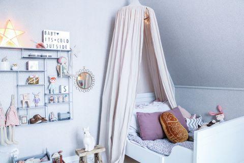 儿童房北欧风格效果图大全2017图片_土拨鼠简洁优雅儿童房北欧风格装修设计效果图欣赏