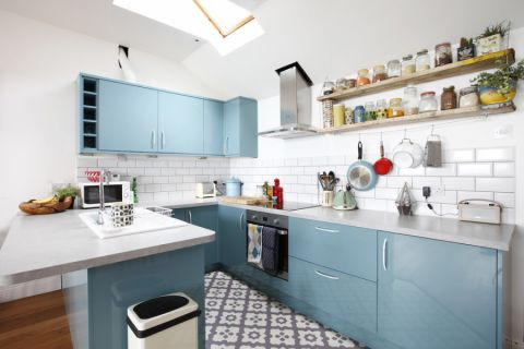 厨房北欧风格效果图大全2017图片_土拨鼠休闲自然厨房北欧风格装修设计效果图欣赏