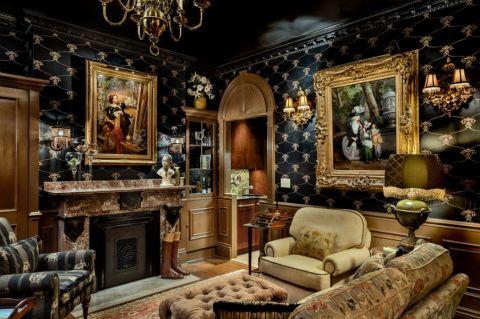 客厅简欧风格效果图大全2017图片_土拨鼠简洁优雅卧室简欧风格装修设计效果图欣赏