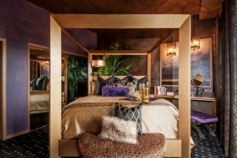 卧室简欧风格效果图大全2017图片_土拨鼠干净迷人卧室简欧风格装修设计效果图欣赏