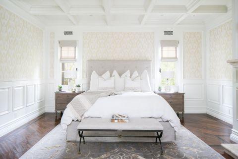 卧室地中海风格效果图大全2017图片_土拨鼠美好纯净卧室地中海风格装修设计效果图欣赏