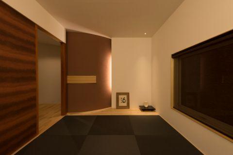 客厅日式风格效果图大全2017图片_土拨鼠现代摩登客厅日式风格装修设计效果图欣赏