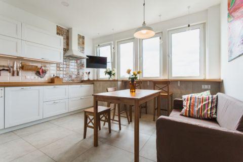 厨房北欧风格效果图大全2017图片_土拨鼠干净时尚厨房北欧风格装修设计效果图欣赏