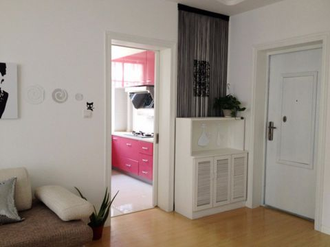 65平米两室一厅混搭简约风格装修效果图
