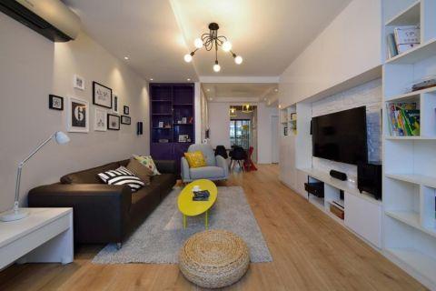 绿云绣北欧风格80平二室一厅装修效果图