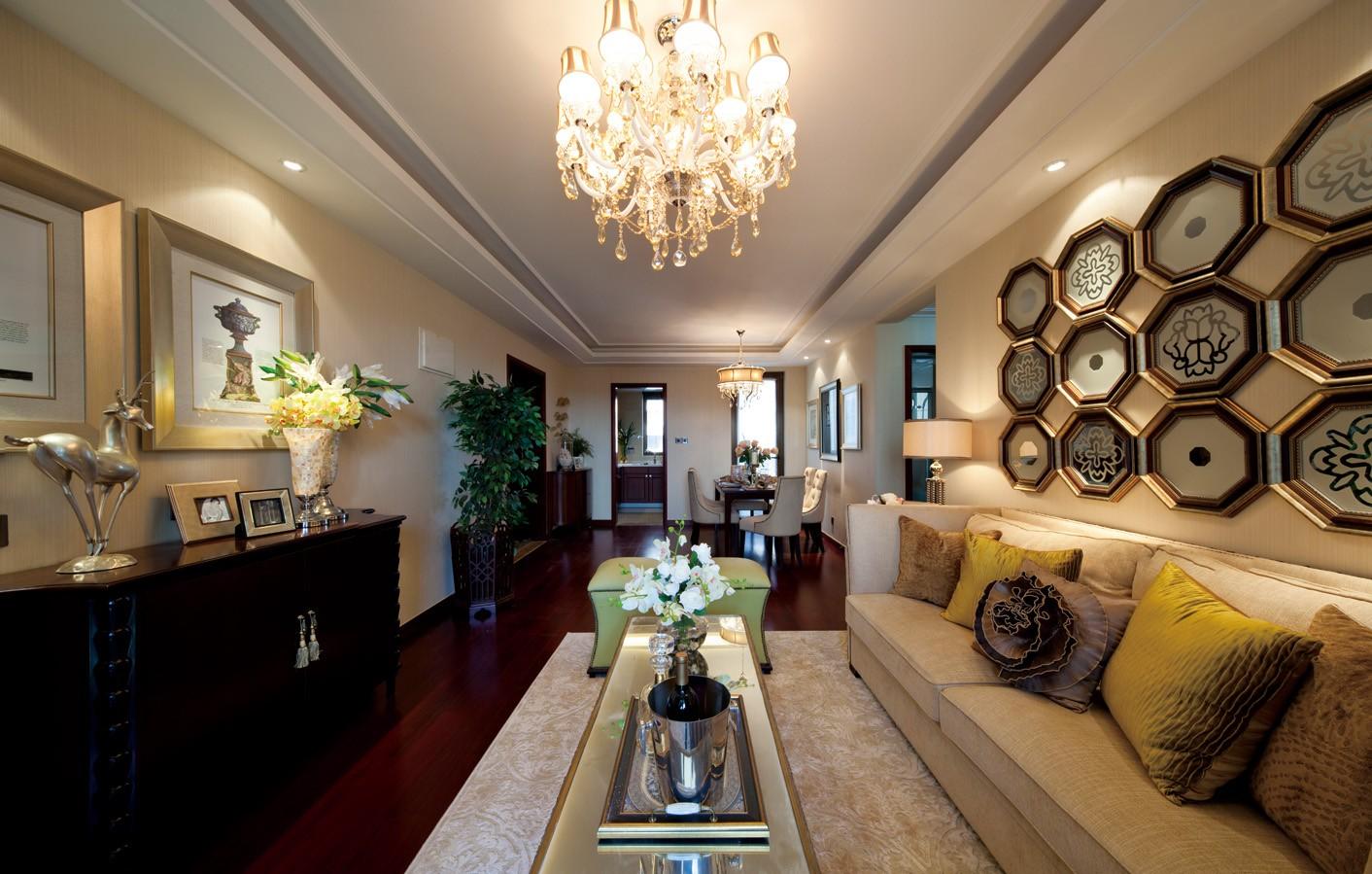 4室2卫2厅120平米简欧风格