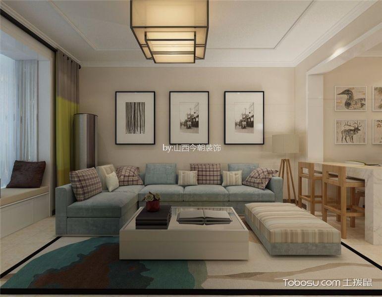 公园伍号142平米现代简约风格三居室装修效果图