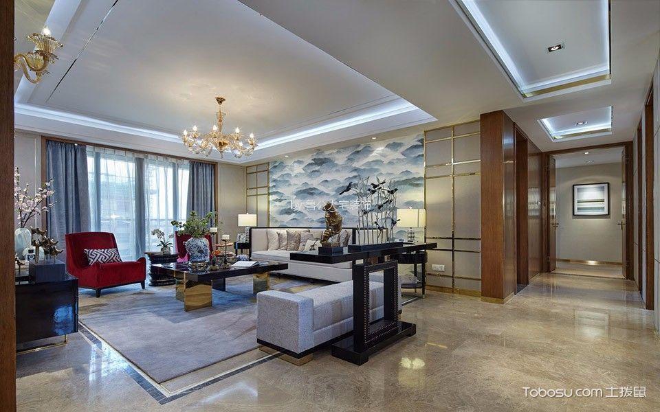 中民仁寿里90平简约风格两居室装修效果图