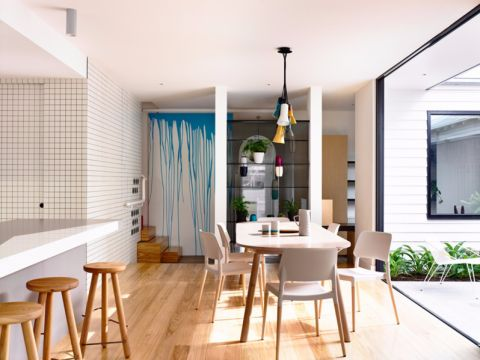 松江区110平三居室北欧风格装修效果图
