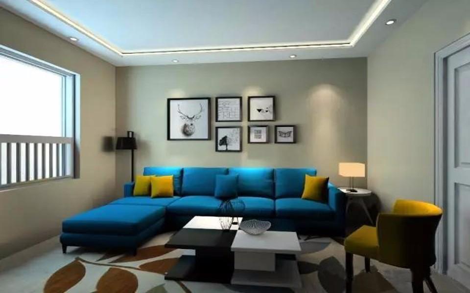2室1卫1厅96平米现代风格