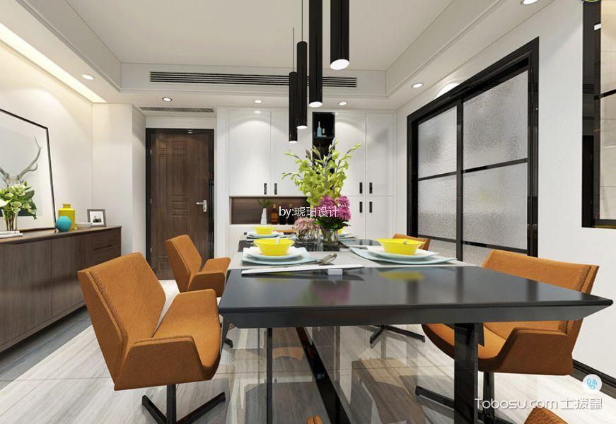 金玉苑140平米现代简约风格四居室装修效果图